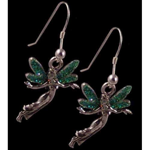 "Серьги ""Green Absinthe Fairy"""