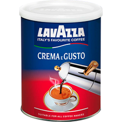 Кофе молотый Lavazza Crema e Gusto, 250 г.