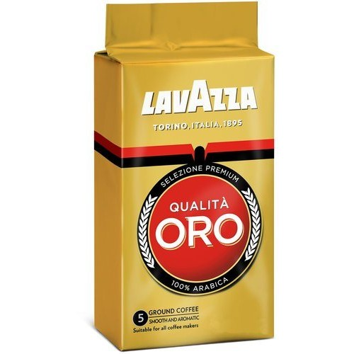 Кофе молотый Lavazza Qualita Oro, 125 г.