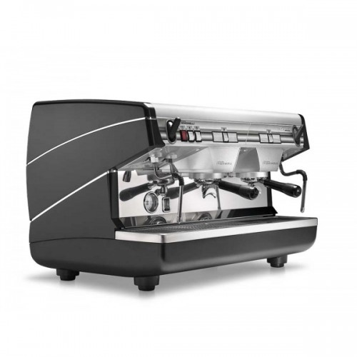 "Кофемашина Nuova Simonelli ""Appia II 2 Gr S Black + Economizer + high groups"""