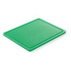 Доска разделочная Hendi, 265х325х12 мм, зеленая