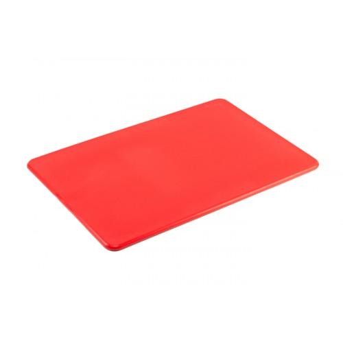 Доска разделочная Yizhou, 400х300х12 мм, красная