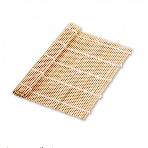 Циновка для роллов бамбуковая Sushi Mat