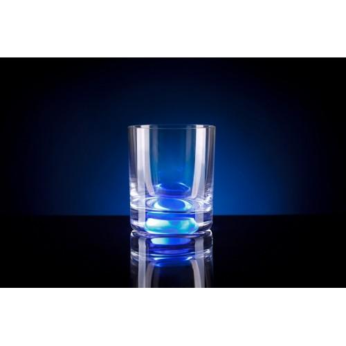 "Олд Фэшнд GlasShine ""WHISKY"", 250 ml, синий"