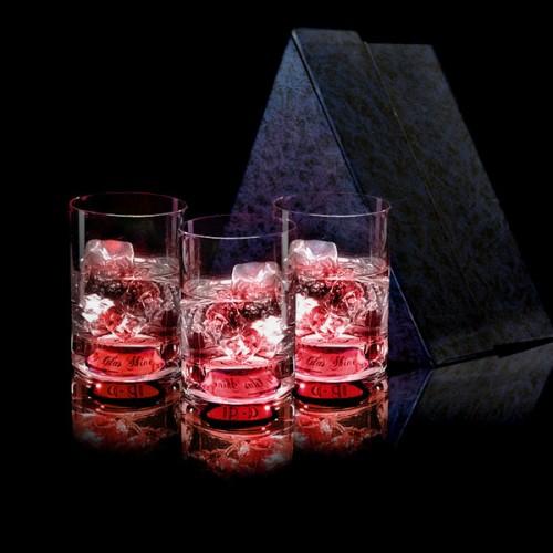 """Олд Фэшнд GlasShine """"SHORT"""", 150 ml, красный"""