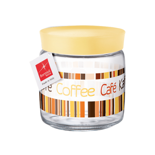 "Банка Bormioli Rocco ""Giara colorful Coffee"", 0.75л"