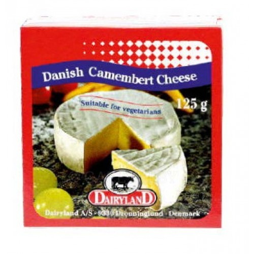 Сыр Dairyland Camembert с белой плесенью, 125 г