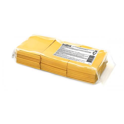 Плавленый сыр в ломтиках Hochland «Бистро Чеддар», 1,033 кг