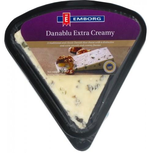 Сыр мягкий с голубой плесенью Данаблю Emborg, 100 г