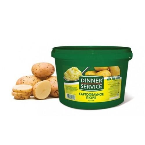 Пюре картофельное сухое Dinner Service, 4 кг