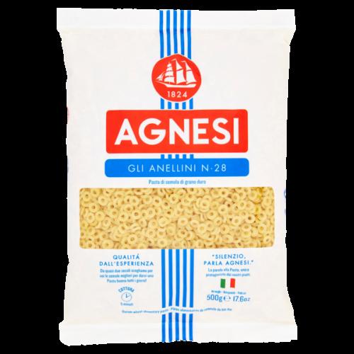 Макаронные изделия Agnesi Anellini №28, 500 г