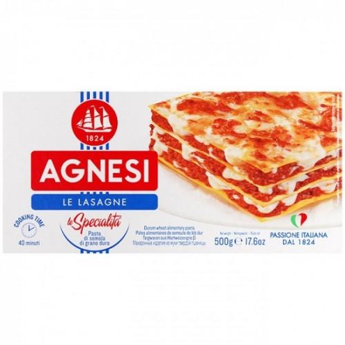 Макаронные изделия Agnesi Le Lasagne, 500 г