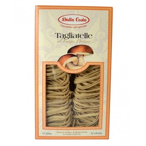 Макаронные изделия Dalla Costa Tagliatette с белыми грибами, 250 г