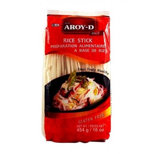 Лапша рисовая 3 мм AROY-D, 454 г