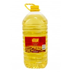 """Масло подсолнечное - Фритюрное рафинированное дезодорированное """"Sunny Gold"""", 5 л"""
