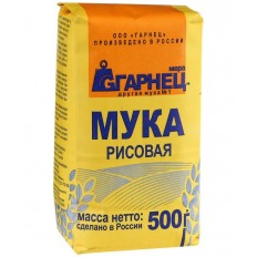 Мука Рисовая Гарнец, 500 г