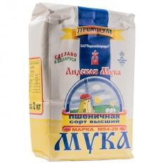 Мука Пшеничная Лидская Премиум, 2 кг
