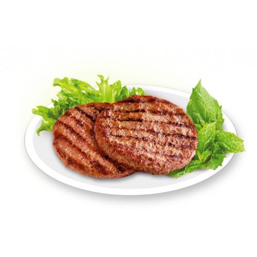 Котлеты для гамбургеров деликатесные по 120 г, 6 кг