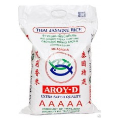 Рис тайский Жасминовый Aroy-D, 10 кг