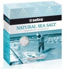 Соль морская Setra натуральная, 500 г