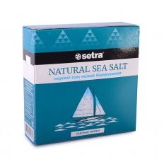 Соль морская Setra мелкая йодированная, 500 г