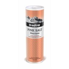 Соль розовая гималайская Setra мелкая солонка, 250 г