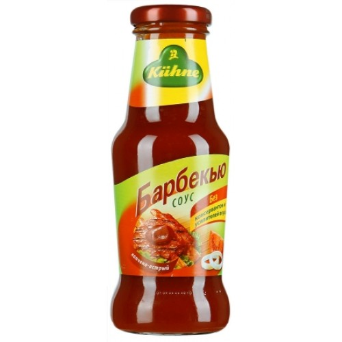 Соус Carl Kuhne Barbecue, 250 ml.