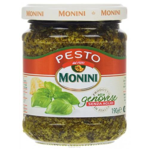 Соус Песто Monini Genovese без чеснока, 190 г.