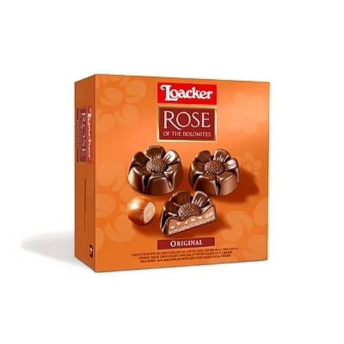 Шоколадные конфеты Loacker Rose of the Dolomites, 150 г
