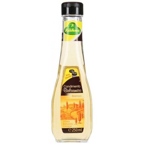 Уксус Carl Kuhne оригинальный итальянский бальзамический светлый, 250 ml.