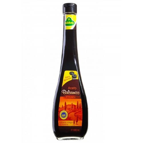 Уксус Carl Kuhne оригинальный итальянский бальзамический темный, 500 ml.