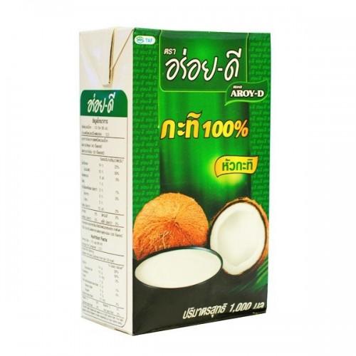 Кокосовое молоко Aroy-D 17-19%, 1 л