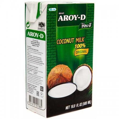 Кокосовое молоко Aroy-D 17-19%, 500 мл