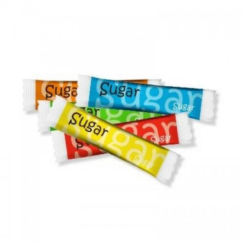 Сахар тростниковый в стиках 83х19, 5 гр