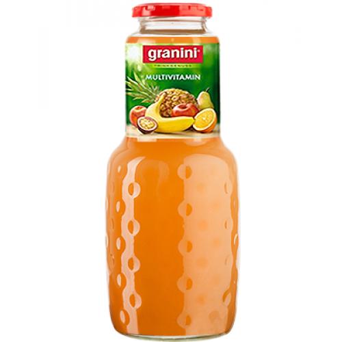 Нектар Granini Мультифрукт, стекло, 1 л