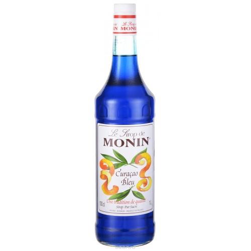 Monin Блю Кюрасао, 1000 ml.