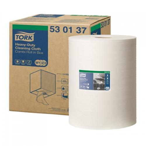 Нетканый материал Tork в рулонах W1/2/3, 152 м