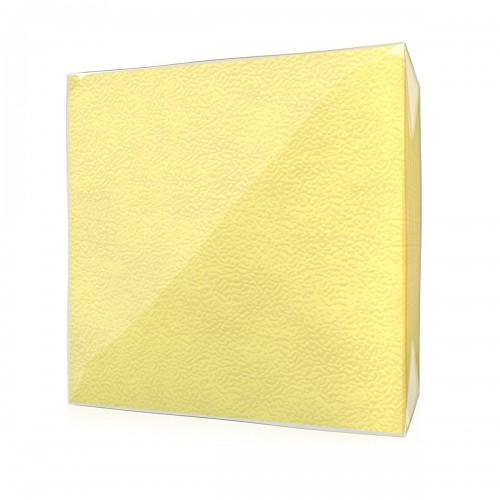 Салфетки Дили Дом 1 слой желтые, 100 листов