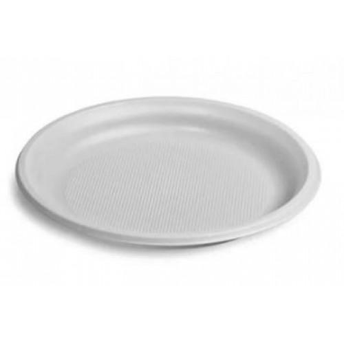 Тарелка одноразовая Дили Дом 100 шт, диаметр 20 см
