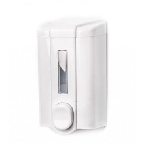 Диспенсер жидкого мыла белый пластиковый наливной Vialli S4, 1000 мл