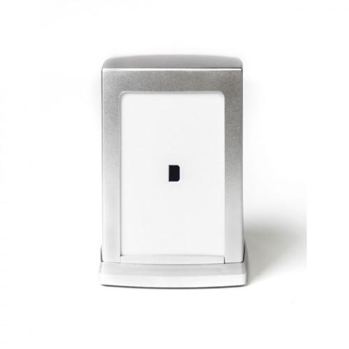 Диспенсер для салфеток настольный белый пластиковый Vialli NP80