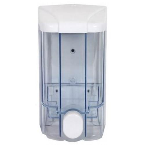 Диспенсер жидкого мыла прозрачный пластиковый наливной Vialli S3, 1000 мл