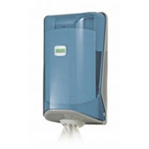 Диспенсер для полотенец Мини с центральной вытяжкой прозрачный Vialli SG1T