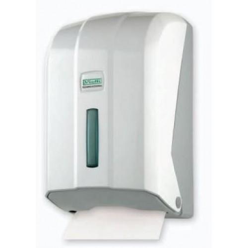 Диспенсер для листовой туалетной бумаги Z сложения белый Vialli KH200Z