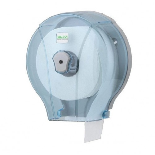 Диспенсер для туалетной бумаги в мини рулонах прозрачный Vialli MJ1T