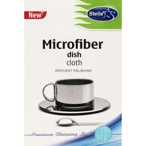 Салфетка из микрофибры для посуды Stella 35х55 см, 1 шт