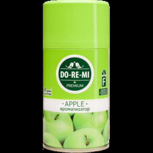 Сменный балон к автоматическому освежителю воздуха ДО-РЭ-МИ Премиум Зеленое яблоко, 250 мл
