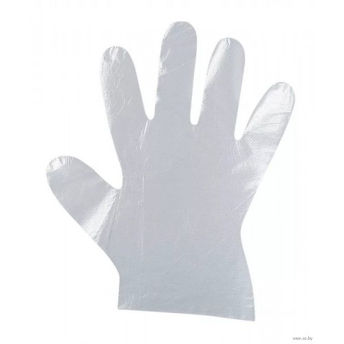 Перчатки полиэтиленовые Дили Дом размер L, 100 шт