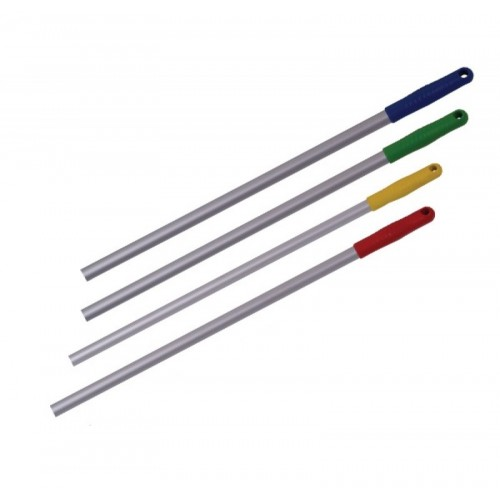 Черенок для щеток металлический 130 см Uctem, 4 цвета