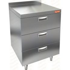 Стол закрытый с тремя ящиками Hicold НБМТ-3-4-6/5-7Б